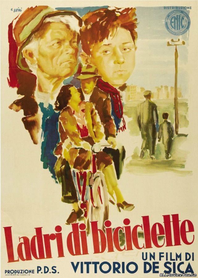 Ladri di biciclette / ველოსიპედების გამტაცებლები (1948/ქართულად)
